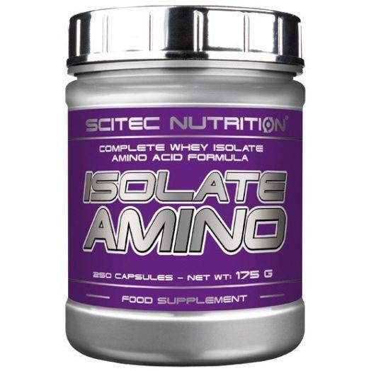 Isolate Amino 250 caps, Scitec Nutrition