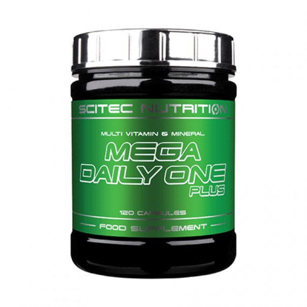 Mega Daily One Plus, 120 кап от Scitec Nutrition