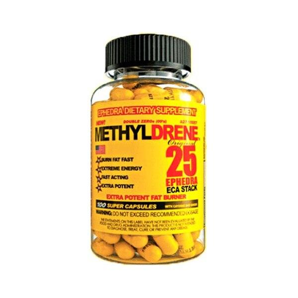 Methyldrene 25, 100 кап
