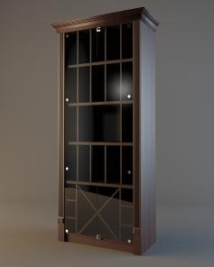 Шкаф для элитного алкоголя LD 006 (со стеклянными дверцами)