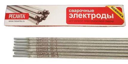 Сварочные электроды Ресанта МР-3 (3 мм; 1 кг)