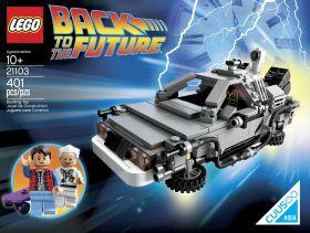 21103 Лего Назад в Будущее: ДеЛориан