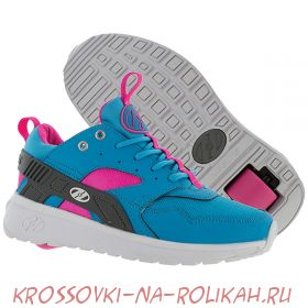 Универсальные кроссовки-трансформеры Heelys