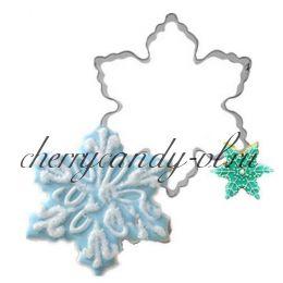 Форма металлическая Снежинка 3 вида