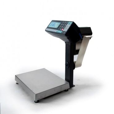 Фасовочные весы-регистраторы с печатью этикеток и чеков МАССА МК-15.2-RP10-1 (с подмоткой ленты)
