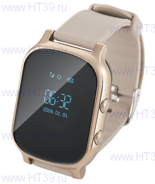 Часы Smart Baby Watch T58 Gold