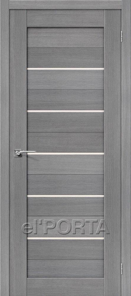 Межкомнатная дверь ПОРТА-22 Grey
