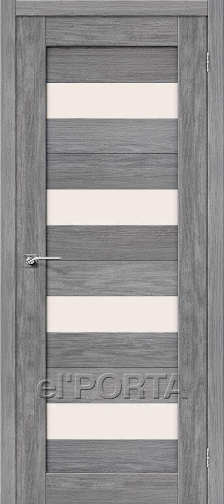 Межкомнатная дверь ПОРТА-23 Grey