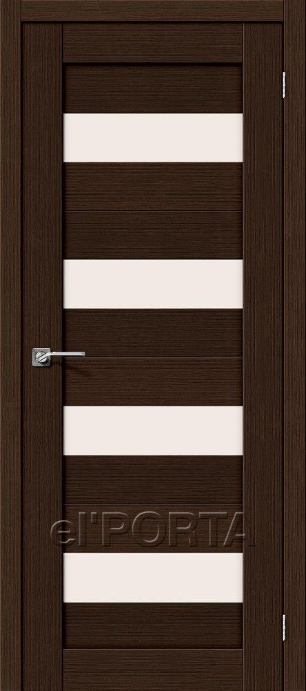 Межкомнатная дверь ПОРТА-23 Wenge