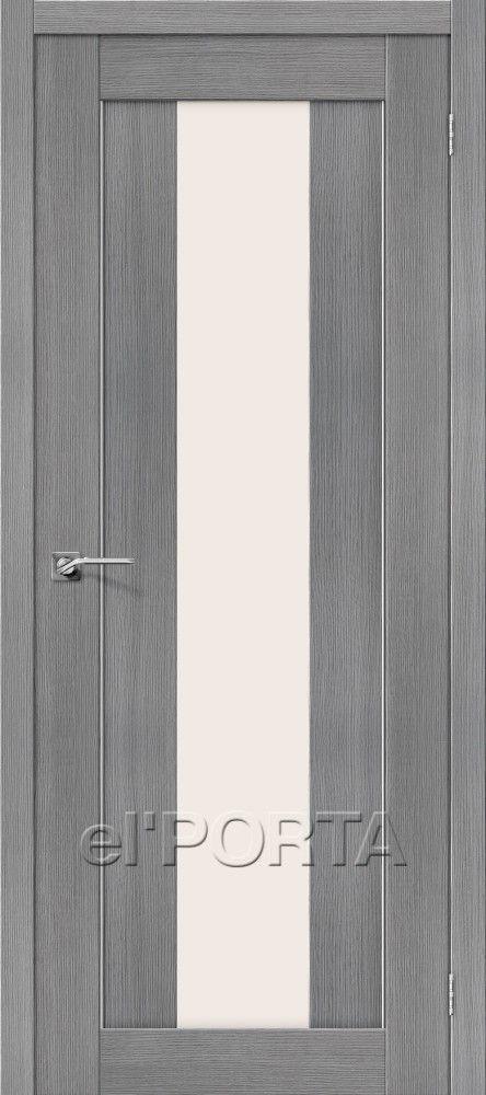 Межкомнатная дверь ПОРТА-25 Grey
