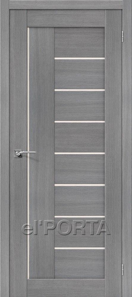 Межкомнатная дверь ПОРТА-29 Grey