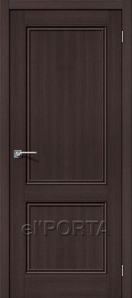 Межкомнатная дверь ПОРТА X-62 Wenge Veralinga