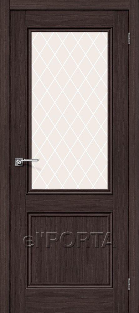 Межкомнатная дверь ПОРТА X-63 Wenge Veralinga