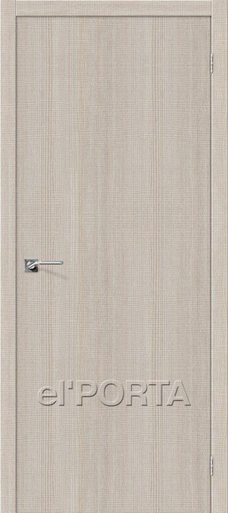 Межкомнатная дверь ПОРТА Z-50 Cappuccino Crosscut
