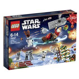 75097 Лего Новогодний календарь 2015