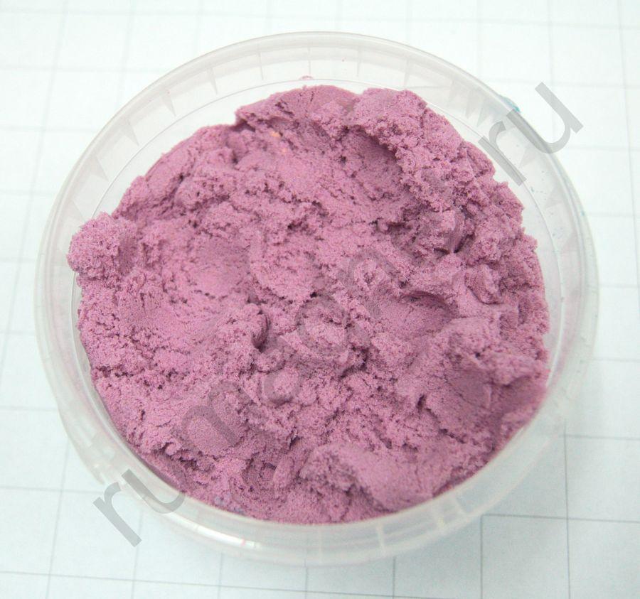 Кинетический песок сиреневый