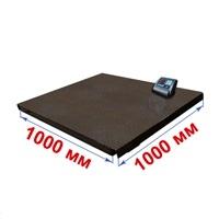 Весы платформенные МИДЛ МП 1000 ВЕДА Ф-1 (200/500; 1000х1000) «Циклоп 12»