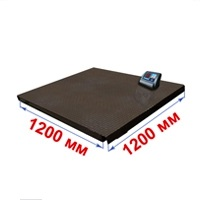 Весы платформенные МИДЛ МП 3000 ВЕДА Ф-1 (500/1000; 1200х1200) «Циклоп 12»