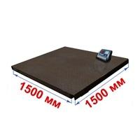 Весы платформенные МИДЛ МП 3000 ВЕДА Ф-1 (500/1000; 1500х1500) «Циклоп 12»