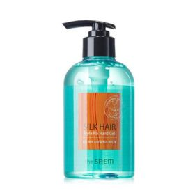 The Saem Silk Hair Style Fix Hard Gel 300ml - Гель для волос