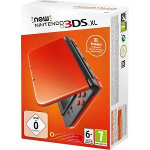 New Nintendo 3DS XL Orange + Black