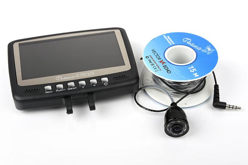 Подводная камера Фишка 4303 с функцией записи на флешку