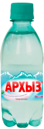 Вода Архыз газ 0,33 литра (1 уп./12 бут.)