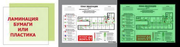 Пленка для ламинирования фотолюминесцентная ГОСТ 12.2.143-2009