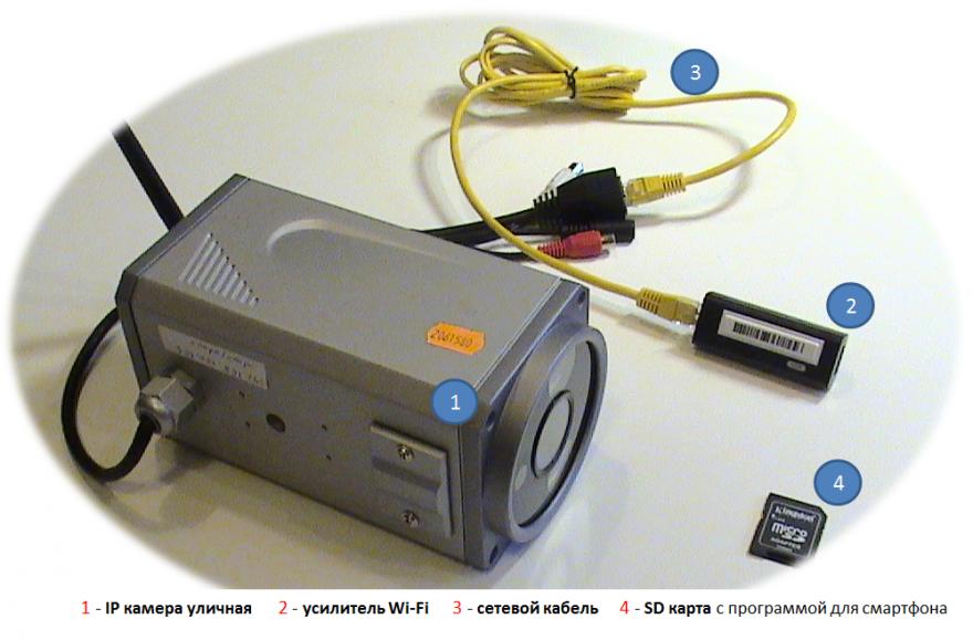 Wi-Fi уличная камера RVisor