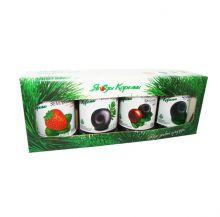 Подарочная упаковка для ягод протёртых с сахаром