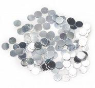 Конфетти кружки, серебро, 17 гр