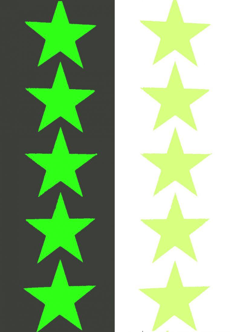 Звезды 5 элементов на листе