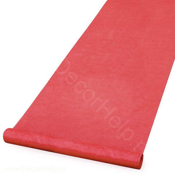 Красная ковровая дорожка (2х10м)
