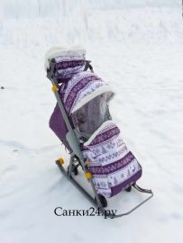 Санки коляска Наши Детки Ника Скандинавия