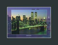 Постер Манхэттен 30х40см.