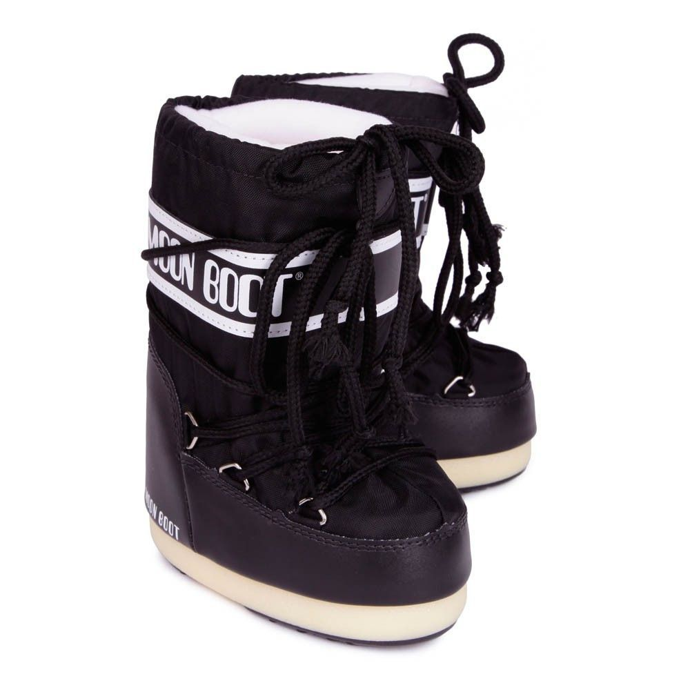 Moon Boot Nylon Black / 23-26, 27-30, 31-34.