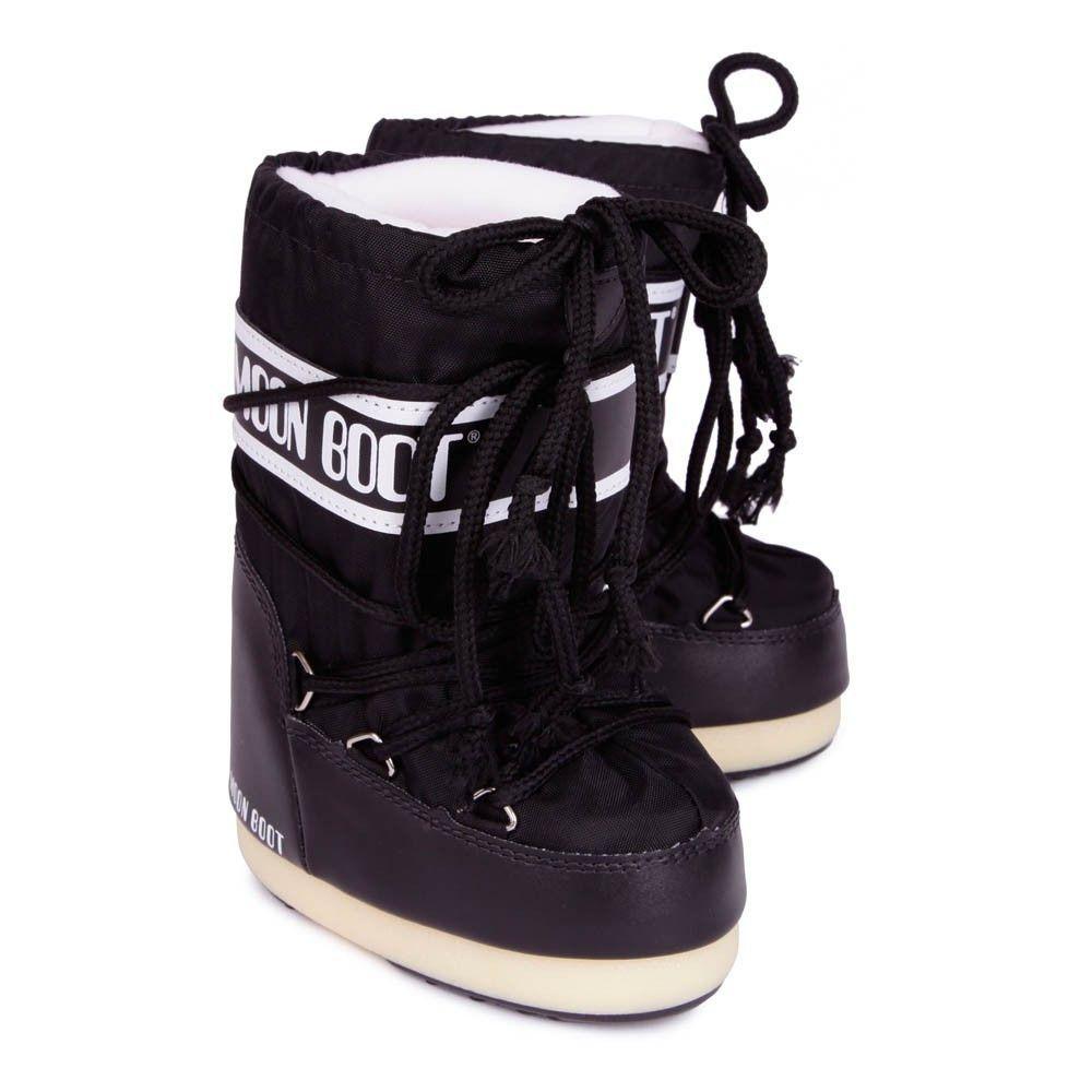 Moon Boot Nylon Black (детские) / 23-26, 27-30, 31-34.