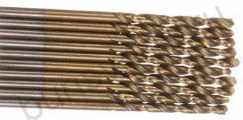 Сверло по металлу 2,5 мм, с титановым покрытием. HSS-TiN