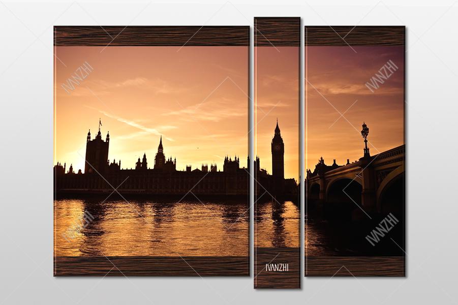 Биг-Бэн и Вестминстерский дворец в Лондоне