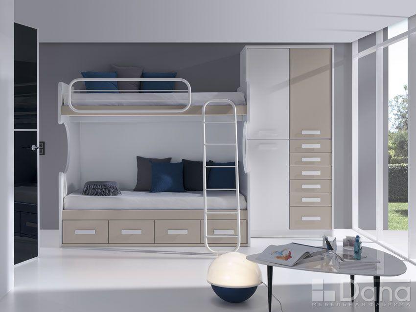 Danza Кровать D8304 2-ярусная