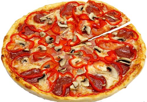 Пицца «Солнце»