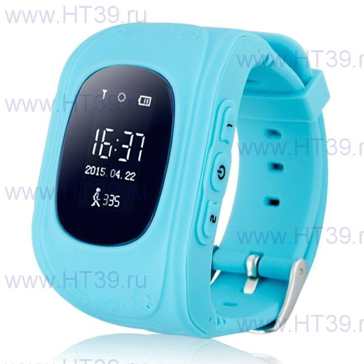 Детские часы Smart Baby Watch Q50 Blue