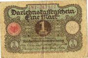 1 марка. 1920 год.  № 181 - 34 7117.