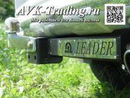 Фаркоп Leader Power T113-F(N) для Toyota Land Cruiser Prado 120 / 150 и Lexus GX 470 / GX 460, с нержавеющей пластиной и фланцевым шаром типа F