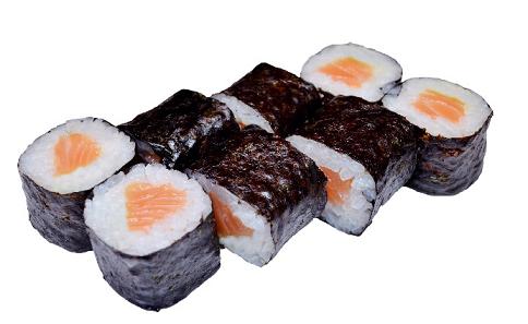 Ролл «С лососем»