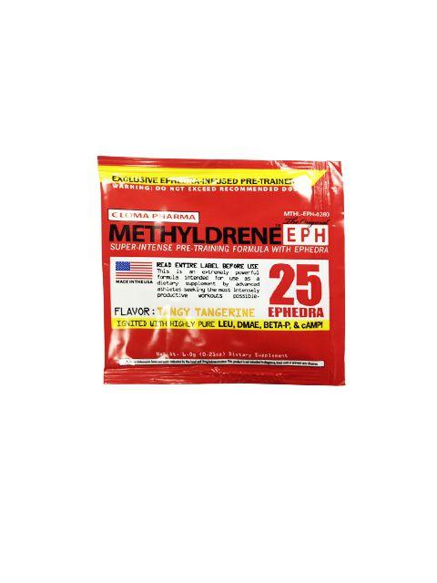 Предтренировочный комплекс Methyldrene25 1порция. (Cloma Pharma) (Лимон)