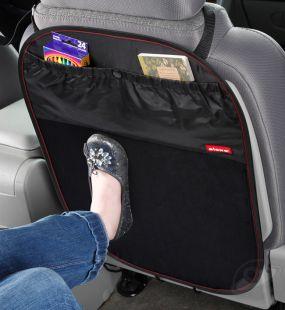 Защитный чехол для спинки переднего автомобильного кресла DIONO STUFF'N'SCUFF черный