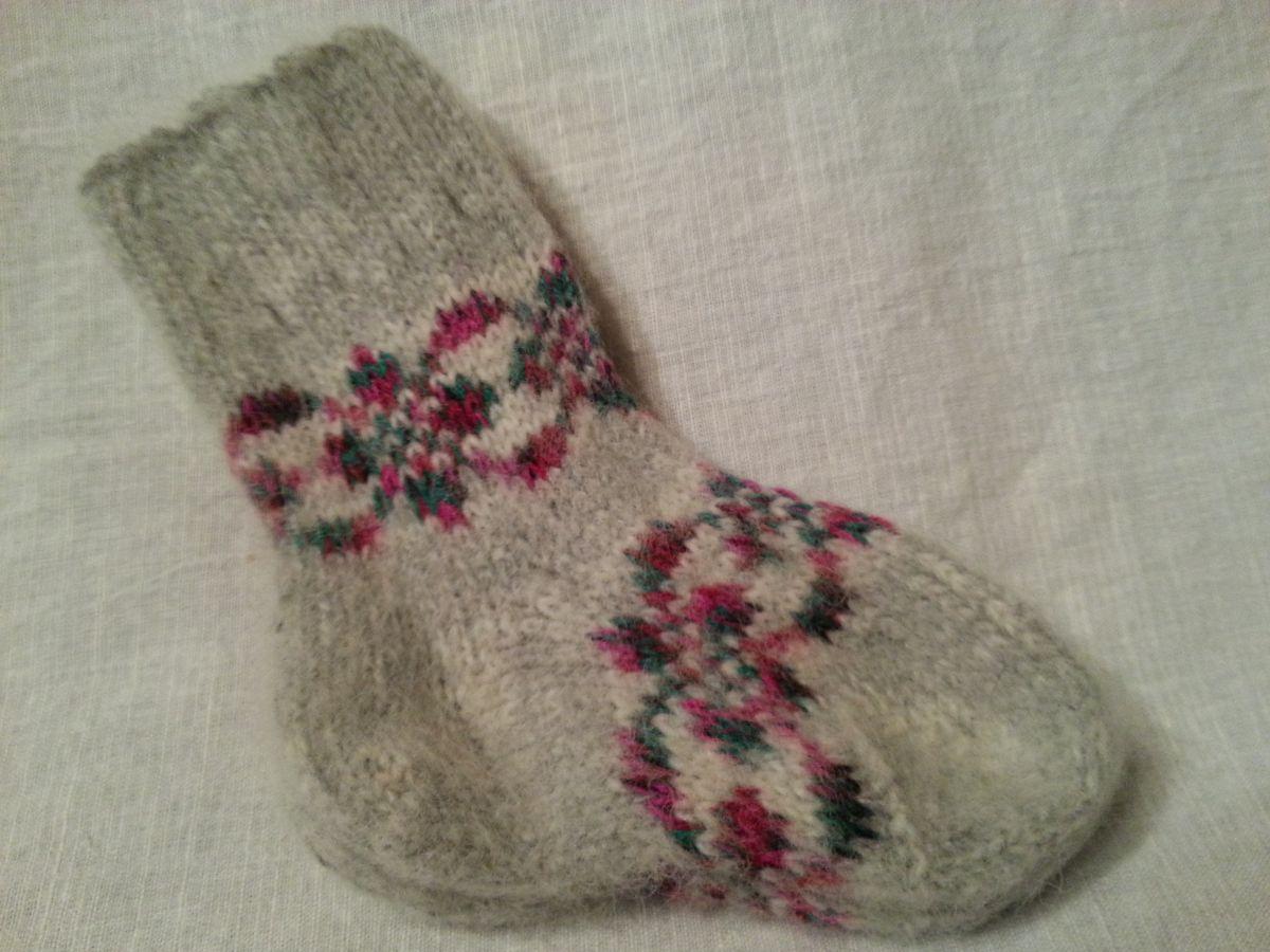 Носки детские шерстяные