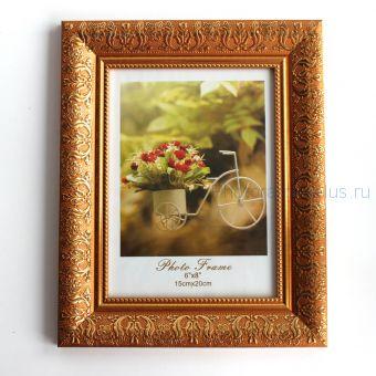 Рамка для фото формата 15х20 А56 (цвет: коричневый)