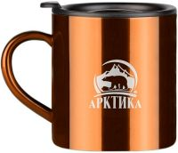 Термокружка Арктика 0,4 литра кофеная